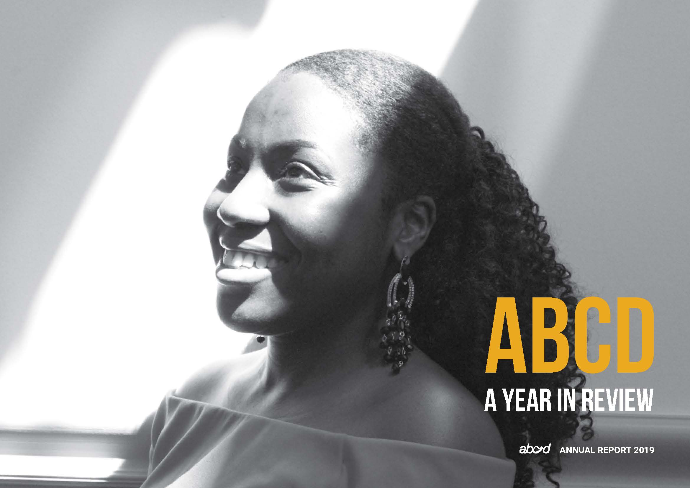 ABCD annual report 2019 YEAR IN REVIEW