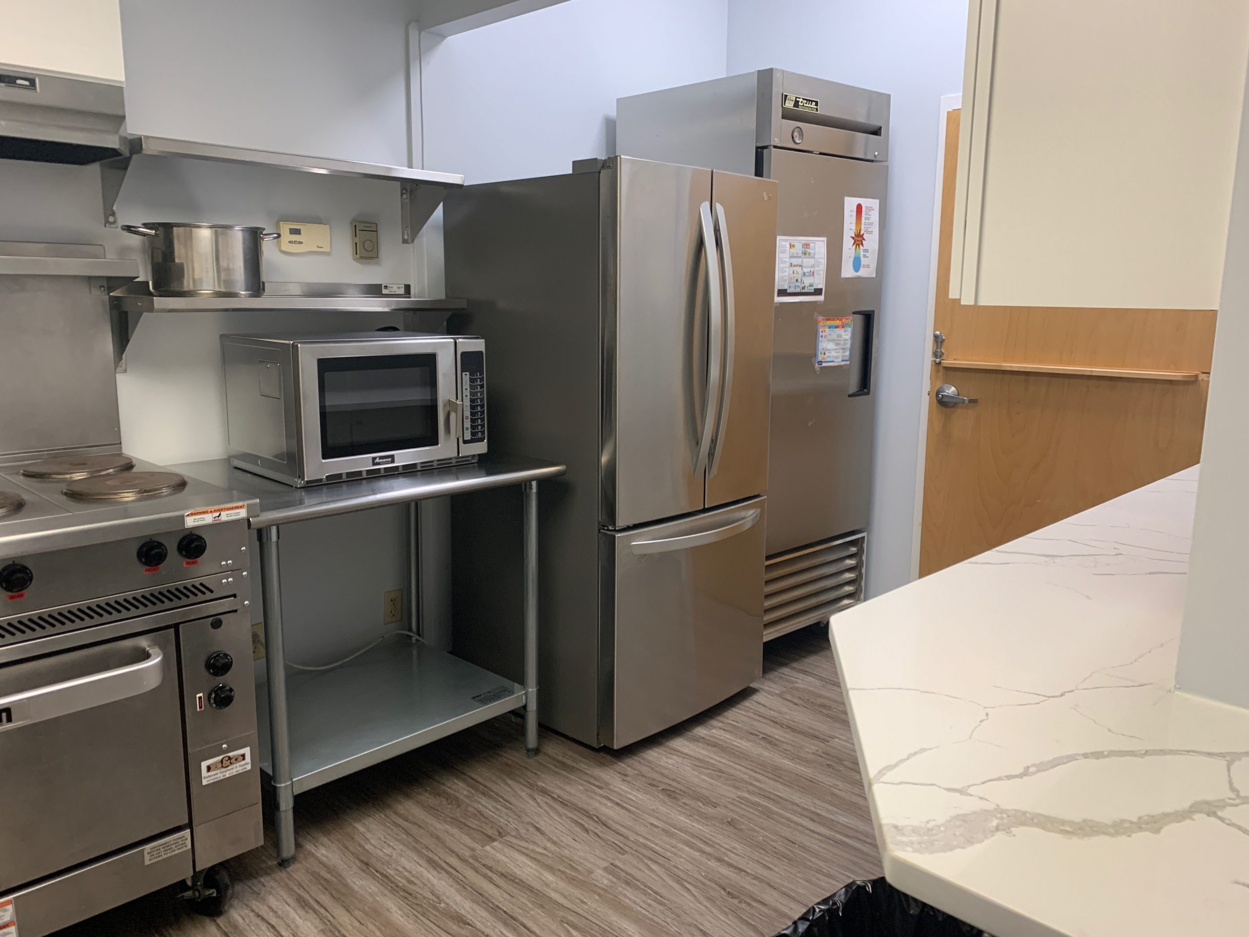 ABCD North End/West End Neighborhood Service Center New Kitchen Photo