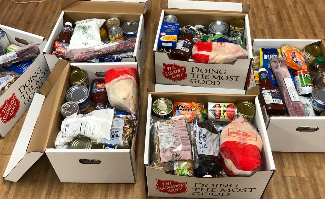Staff at the NSC weighed one of the boxes and it topped forty pounds! Seniors and other families have extra food in their refrigerators and cupboards to help them stretch their household food budget.